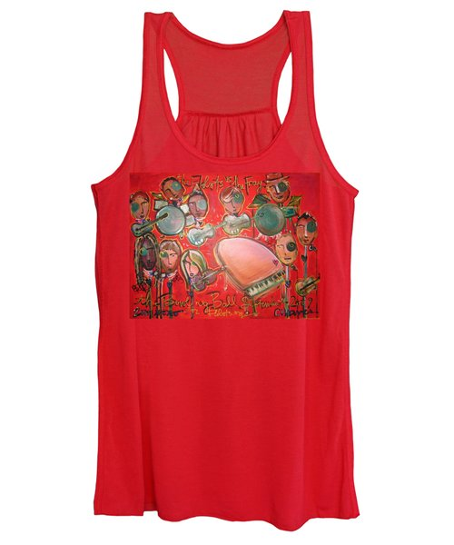 The Fray And The Flobots Women's Tank Top