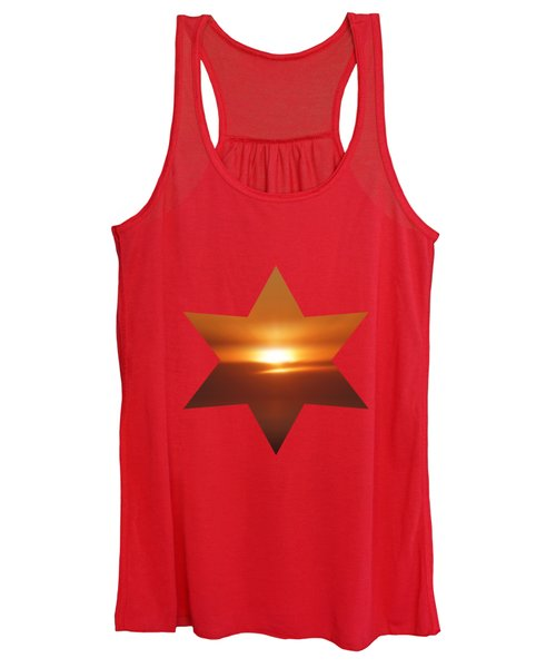 The Golden Hour By V.kelly Women's Tank Top