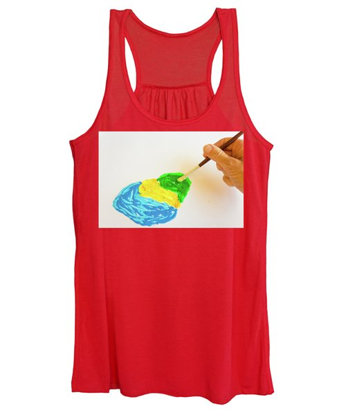 The Green Color Story Women's Tank Top
