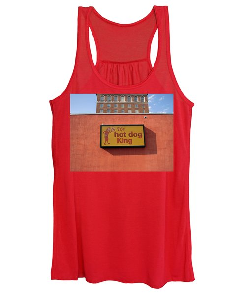 The Hot Dog King Women's Tank Top