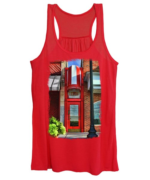 The Little Popcorn Shop In Wheaton Women's Tank Top