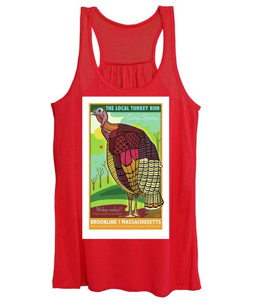 The Local Turkey Run Women's Tank Top