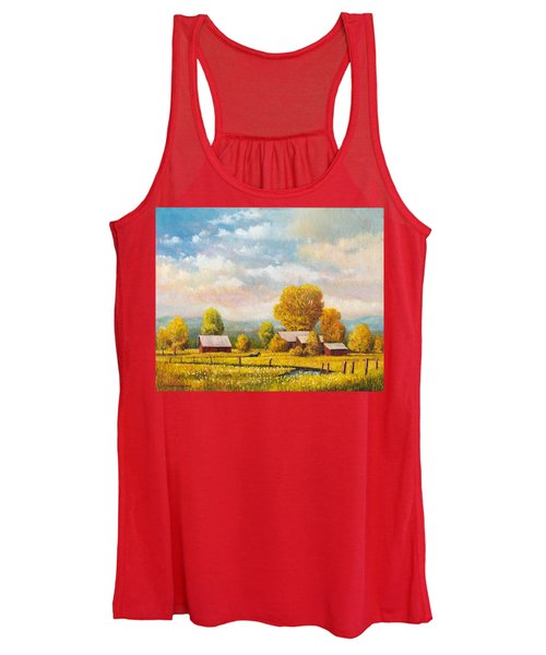 The Lonely Horse Women's Tank Top