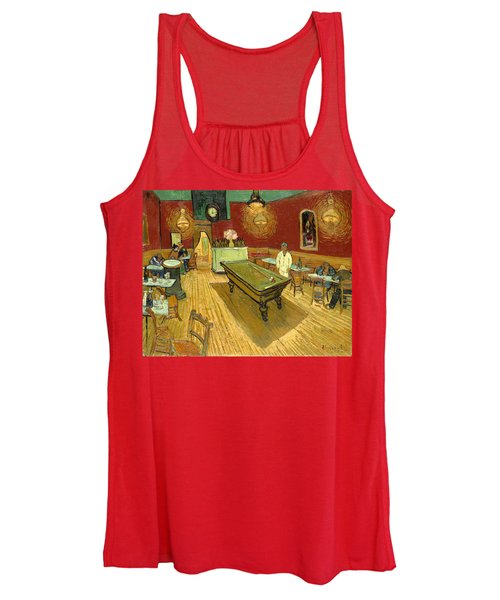 The Night Cafe Auto Contrasted Women's Tank Top