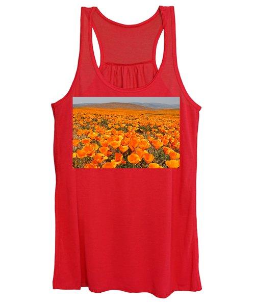 The Poppy Fields - Antelope Valley Women's Tank Top