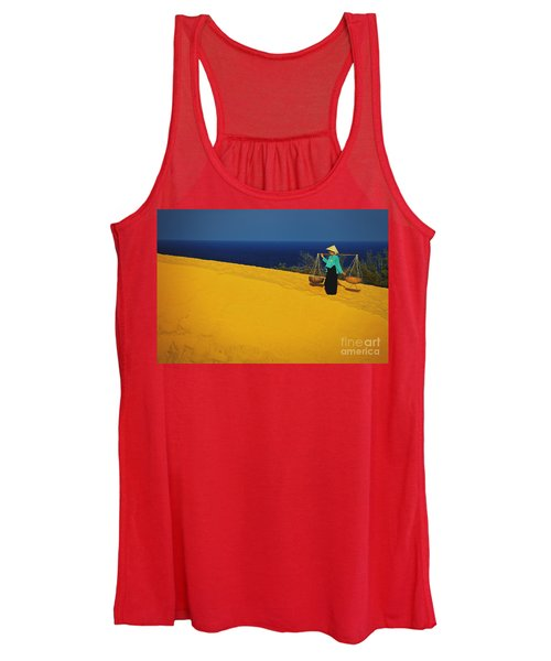 The Red San Dunes Of Mui Ne Vietnam Women's Tank Top
