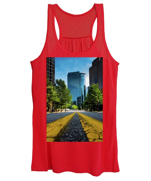 The Road Ahead Women's Tank Top