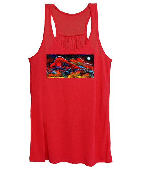 The Sound Of The Night Women's Tank Top