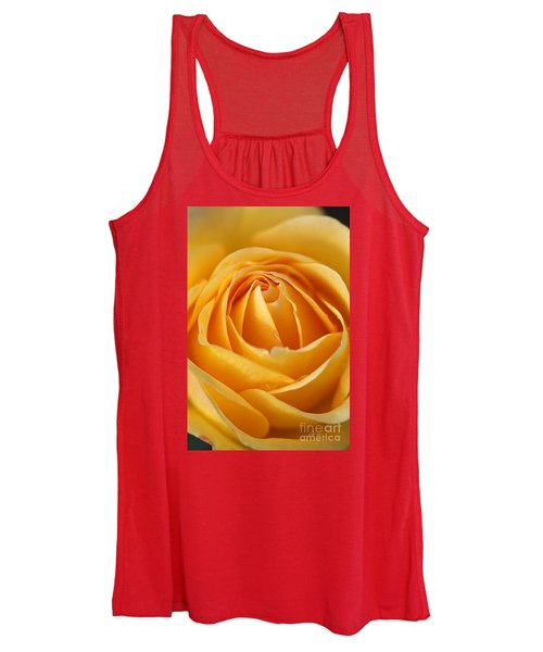 The Yellow Rose Women's Tank Top