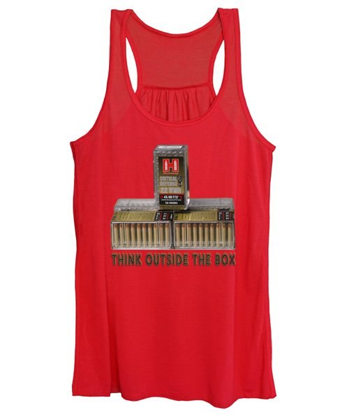 Think Outside The Box Women's Tank Top