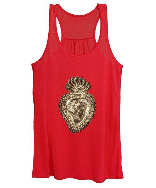 Tin Heart Women's Tank Top