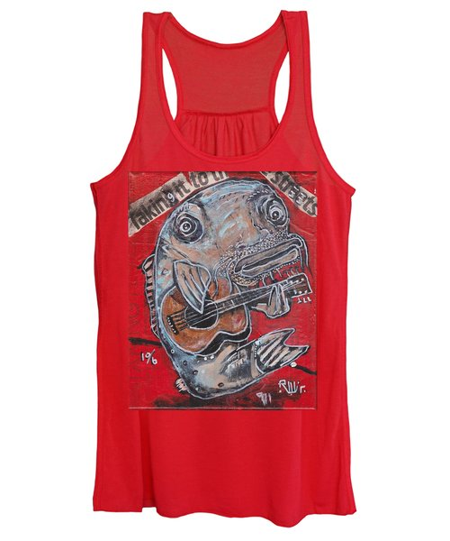 Blues Cat Women's Tank Top
