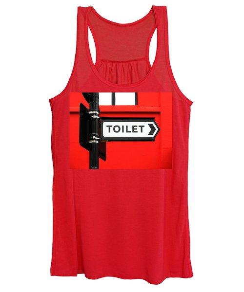 Toilet Women's Tank Top