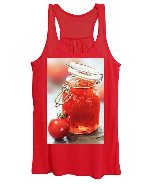 Tomato Jam In Glass Jar Women's Tank Top