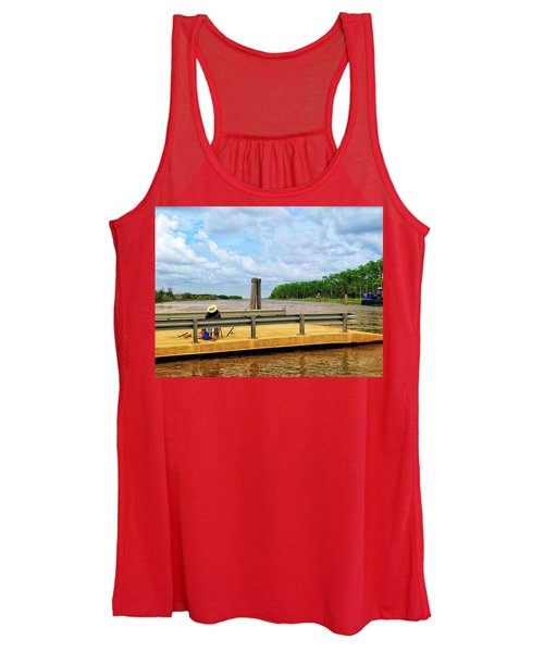 Too Hot To Fish Women's Tank Top