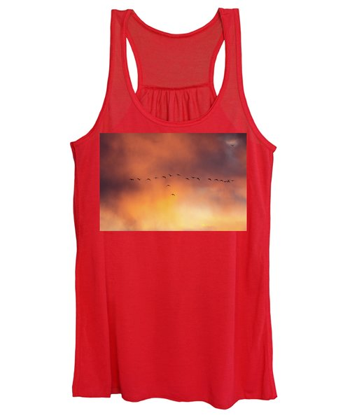 Towards The Sun Women's Tank Top