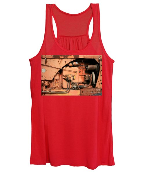 Tractor Engine V Women's Tank Top