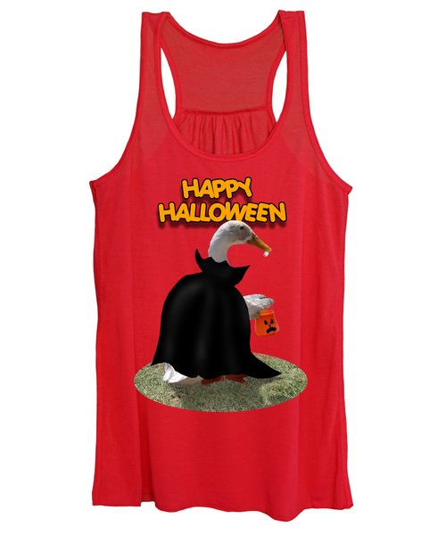 Trick Or Treat For Count Duckula Women's Tank Top