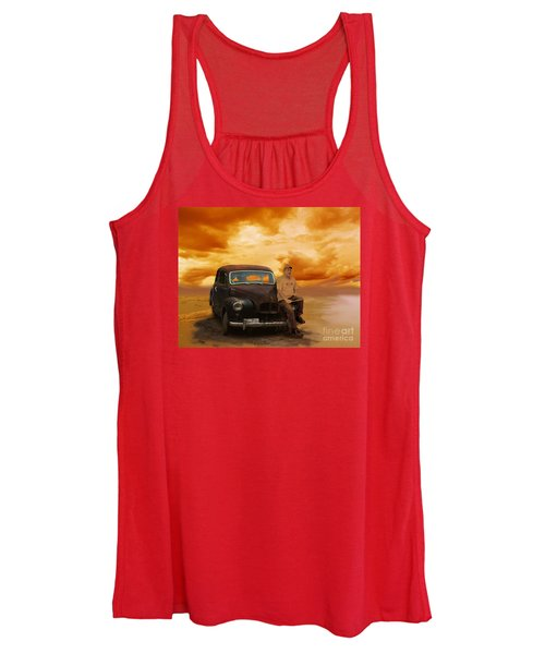 Trippin' With My '48 Austin A40 Women's Tank Top