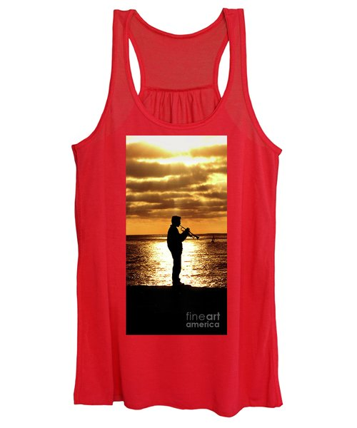 Trumpet Player Women's Tank Top