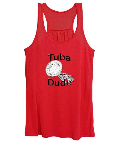 Tuba Dude Women's Tank Top