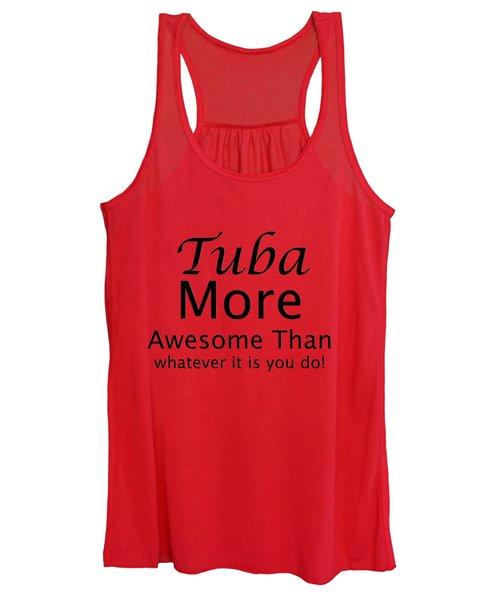 Tubas More Awesome Than You 5561.02 Women's Tank Top