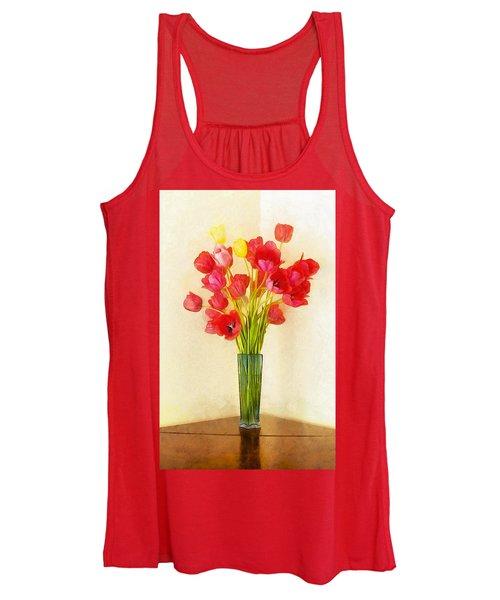 Tulip Bouquet Women's Tank Top