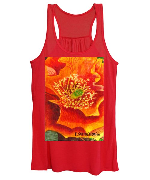 Tulip Prickly Pear Women's Tank Top