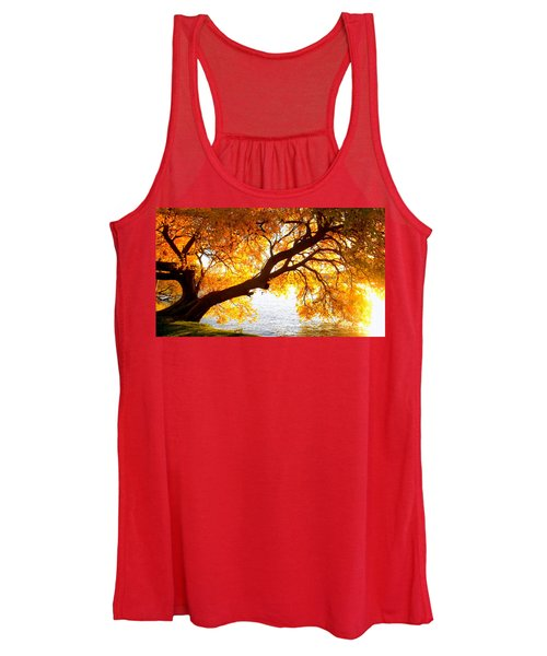 Under The Yellow Tree Women's Tank Top