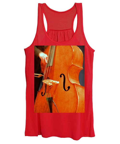 Upright Bass 3 Women's Tank Top