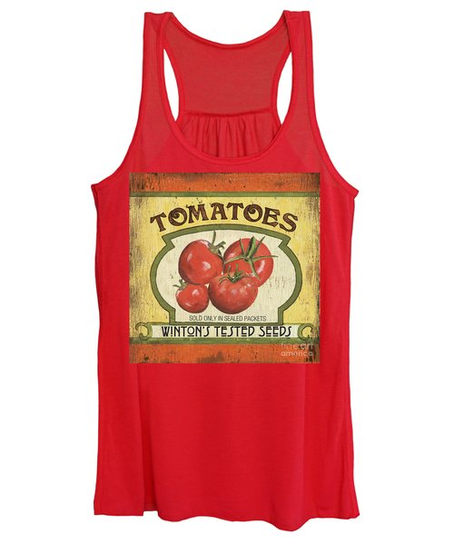 Veggie Seed Pack 3 Women's Tank Top