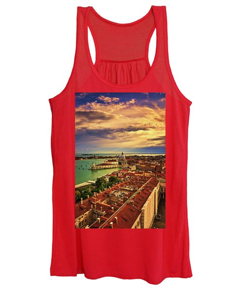 From The Bell Tower In Venice, Italy Women's Tank Top