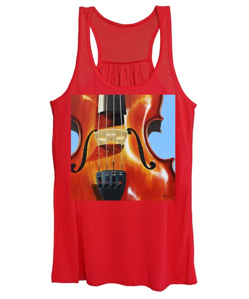 Violin Women's Tank Top