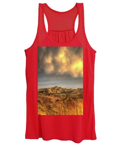 Virga Over The Badlands Women's Tank Top