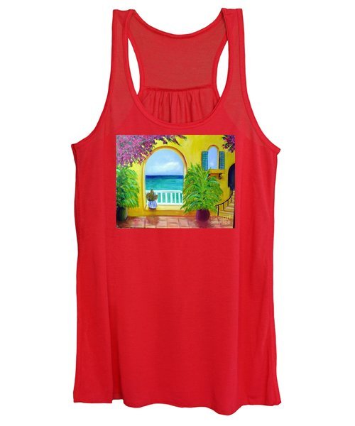 Vista Del Agua Women's Tank Top