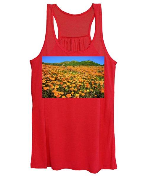 Walker Canyon Wildflowers Women's Tank Top