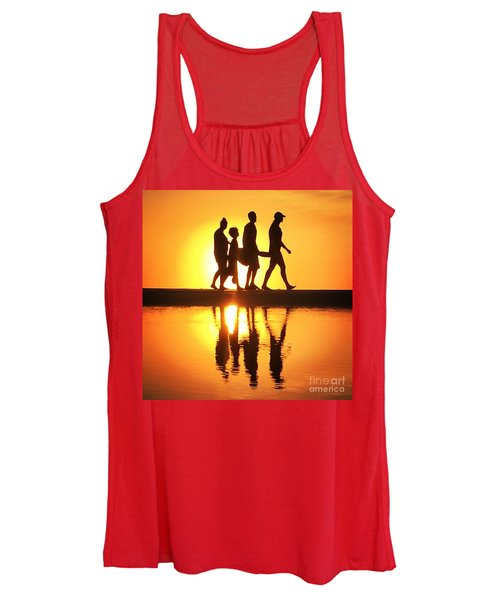 Walking On Sunshine Women's Tank Top