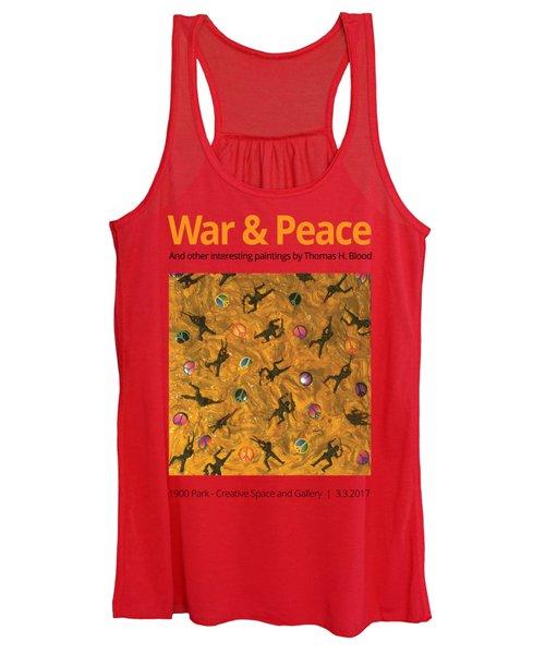 War And Peace T-shirt Women's Tank Top