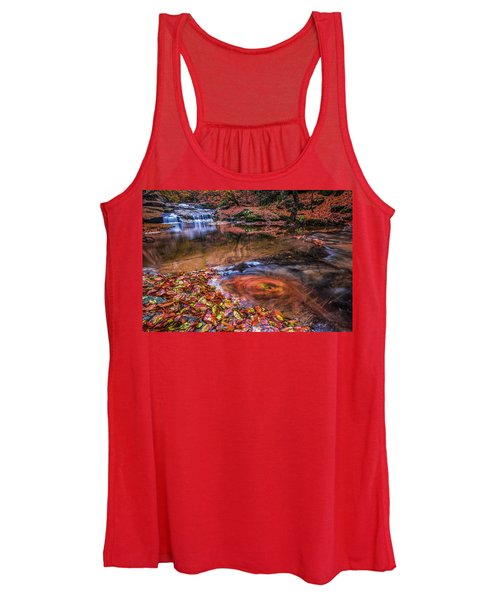 Waterfall-4 Women's Tank Top