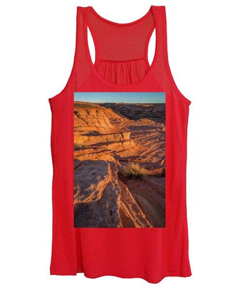 Waterhole Canyon Sunset Vista Women's Tank Top