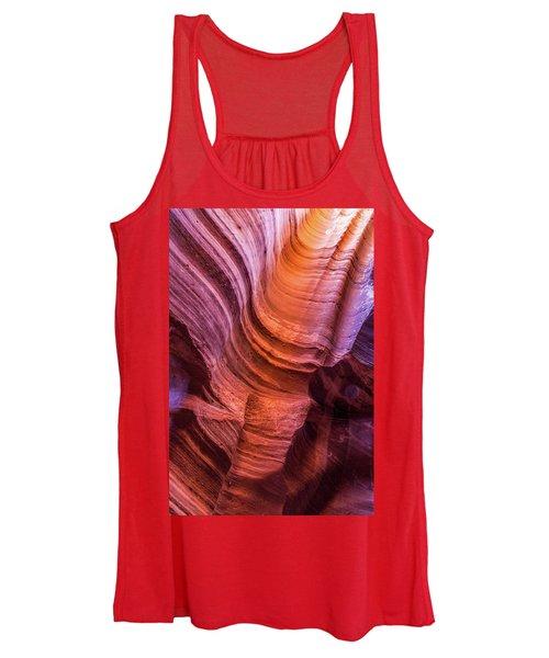 Waterholes Canyon Ribbon Candy Women's Tank Top