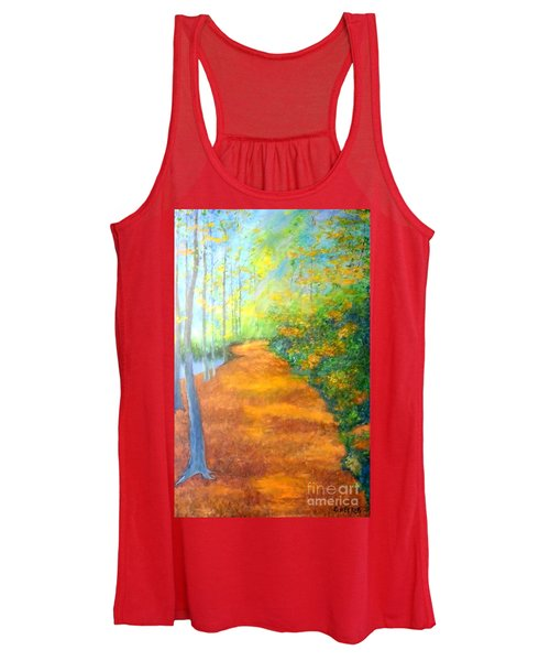 Way In The Forest Women's Tank Top