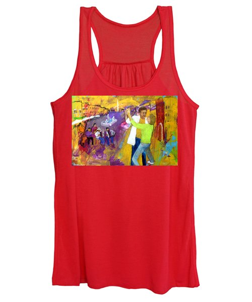 We Tangoed On The Piazza Navono Women's Tank Top