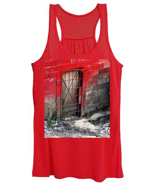 What Lies Behind The Door Women's Tank Top