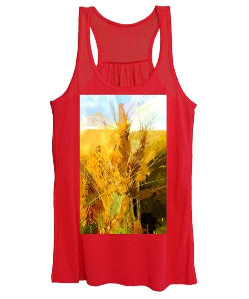 Wheat Field Women's Tank Top