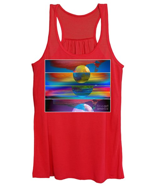 Where The Land Ends Women's Tank Top