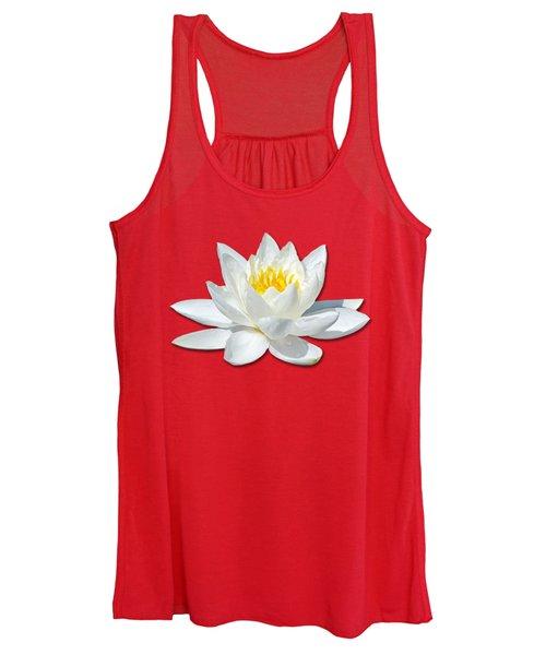 White Lily 2 Women's Tank Top