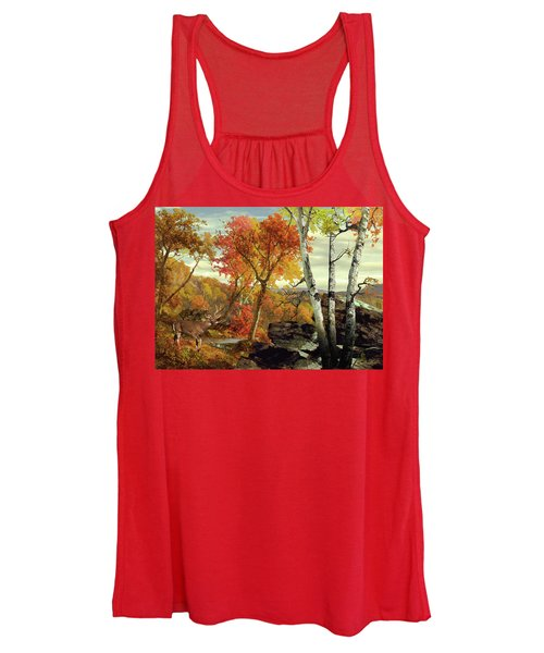 White-tailed Deer In The Poconos Women's Tank Top