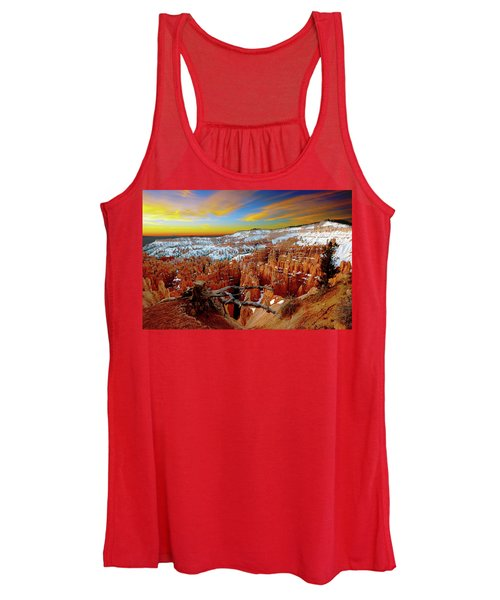 Winter Sunrise At Bryce Women's Tank Top