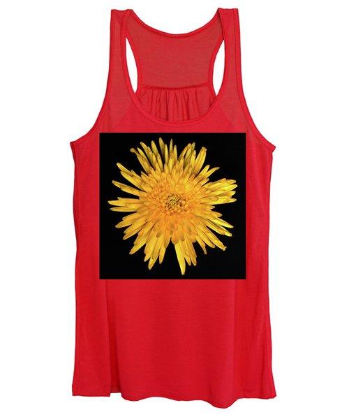 Yellow Flower Macro Women's Tank Top